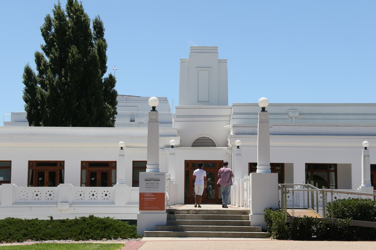 Old Parliament House in Canberra, now the Museum of Australian Democracy.