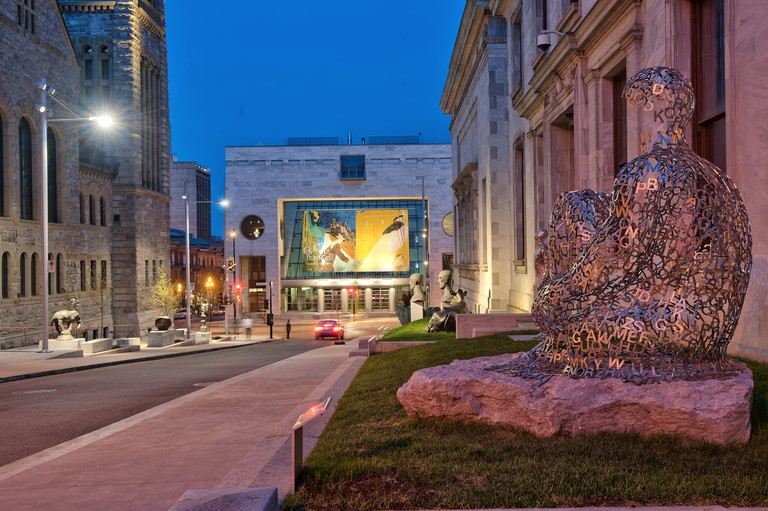 Museum of Fine Arts / Musee des Beaux Arts, Downtown Montreal, Quebec, Canada