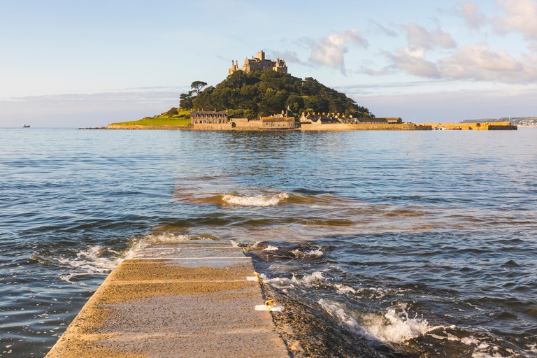United Kingdom, Cornwall, St Michael's Mount