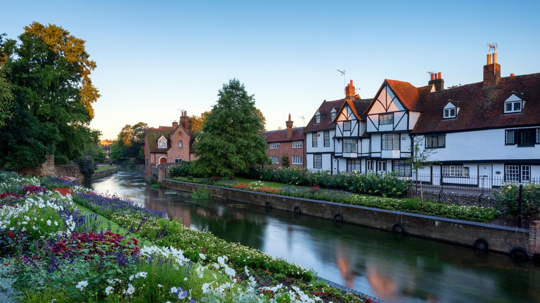 The beautiful Westgate Gardens in the medieval city of Canterbury.