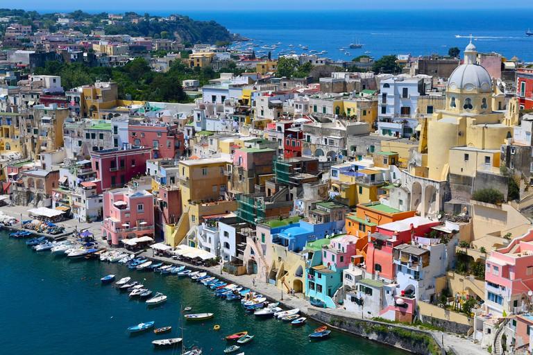 Procida Island, Italy. Image shot 01/2016. Exact date unknown.