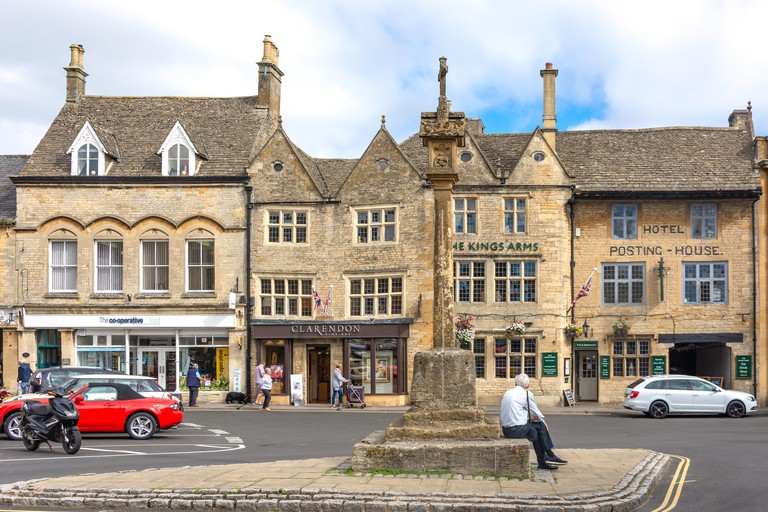 Market Cross, Market Square, Stow-on-the-Wold, Gloucestershire, England, United Kingdom