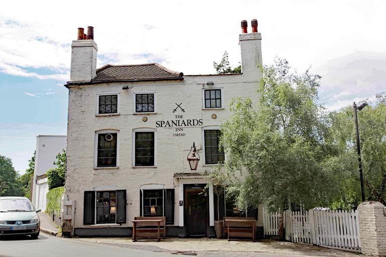 The Spaniards Inn 1585AD Hampstead NW3