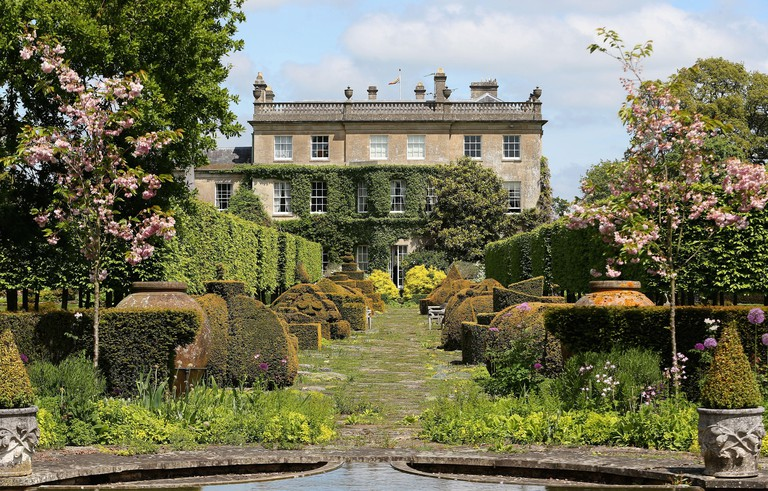 Embargoed to 0001 Tuesday November 13 File photo dated 05/06/13 of a general view of the gardens at Highgrove House. Royal fans can now take a virtual tour of the Prince of Wales' Clarence House home or stroll through the gardens of his Highgrove country