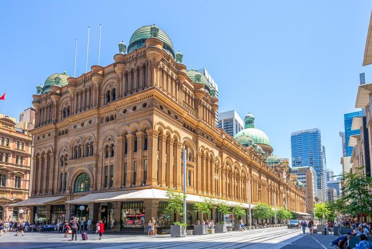 Queen Victoria Building, a heritage site in sydney