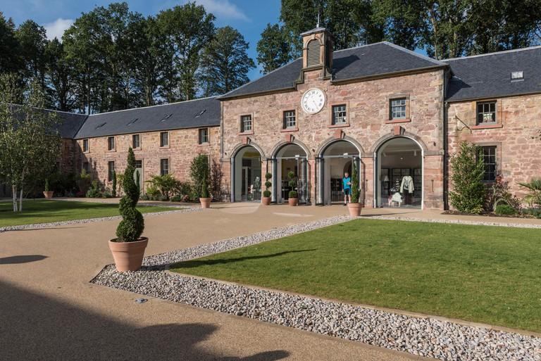 The Restoration Yard Dalkeith Country Park near Edinburgh