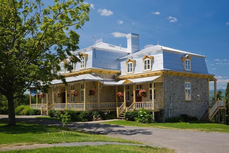 La Maison de nos Aieux Information Centre, Sainte-Famille, Ile d'Orleans, Quebec, Canada