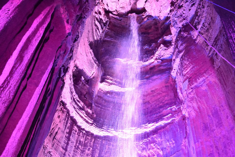 Ruby Falls in Chattanooga, Tennessee. Image shot 12/2016. Exact date unknown.