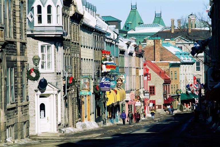 Rue Saint Louis, Quebec City, Quebec, Canada, North America