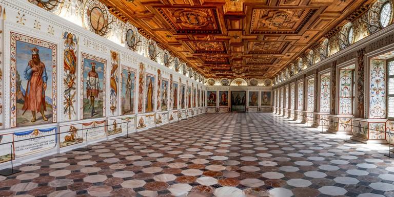 Spanish Hall, Schloss Ambras, Innsbruck