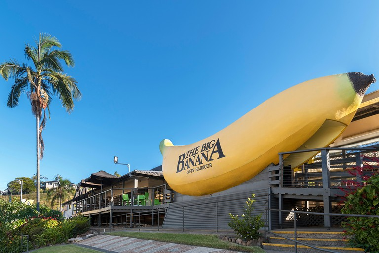 The Big Banana in Coffs Harbour, New South Wales, Australia