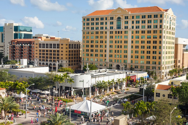 Florida, FL, South, Miami, Coral Gables, Coral Way, Miracle Mile, carnival, Carnaval on the Mile, carnival, event, street fair, festival, Hispanic His