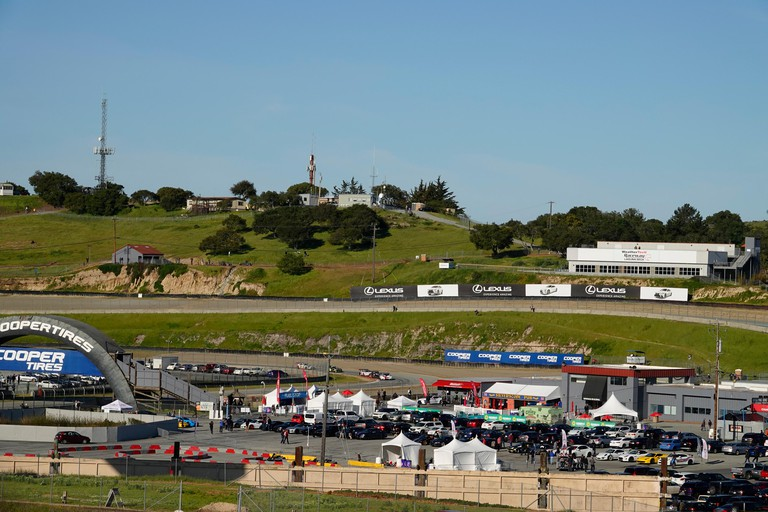 Laguna Seca Raceway, Monterey, USA30th March, 2019 WeatherTech Laguna Seca Raceway, Monterey, CA., USAAction during the early styages of the Intercontinental GT Challenge Series, 8 hour race at the USA's most iconic racetrack