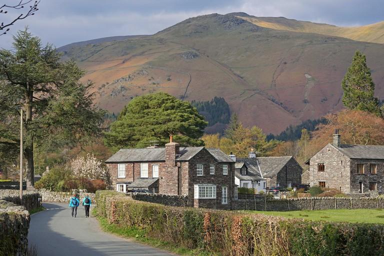 Grasmere Lake District Cumbria UK