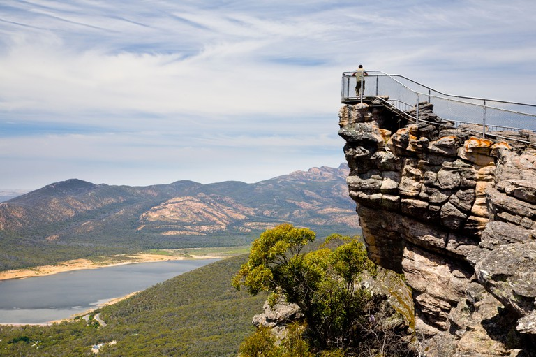The Pinnacle Grampians National Park Victoria Australia
