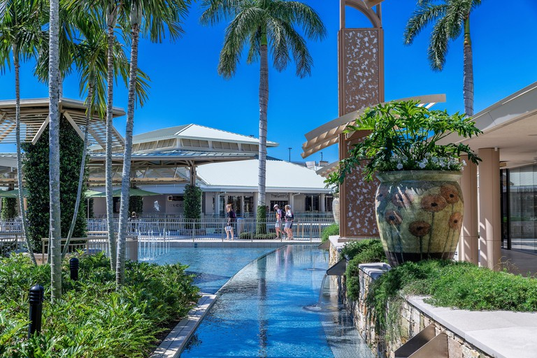 The Waterside Shops is a high end mall in Naples in Florida.
