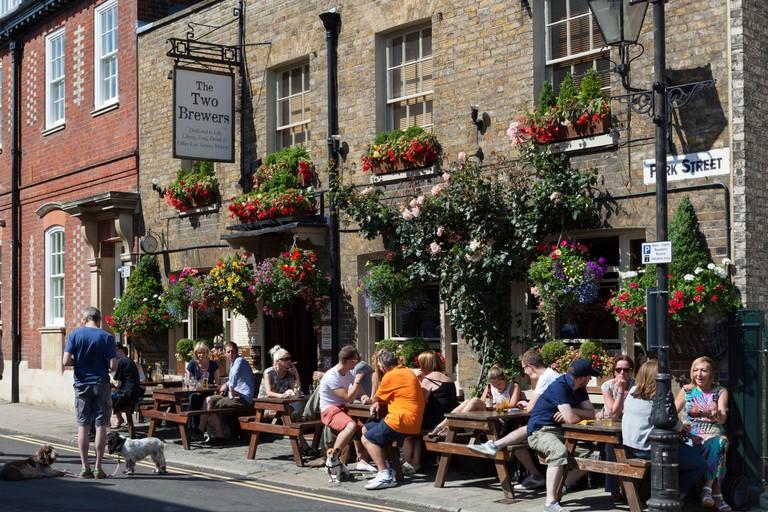 The Two Brewers pub on Park Street, Windsor, Berkshire, England, United Kingdom, Europe