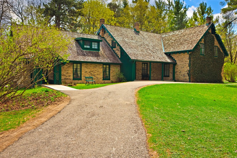 Woodside National Historic Site, the childhood home of Canada's longest serving prime minister William Lyon Mackenzie King, Kitchener, Ontario