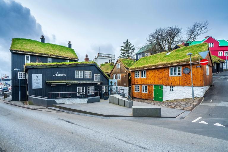 Tinganes, Torshavn old town, Streymoy, Faroe Islands, Denmark, Europe