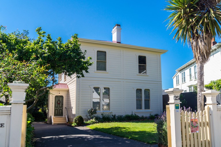Katherine Mansfield House, birthplace of the writer (1888-1923), Wellington, New Zealand