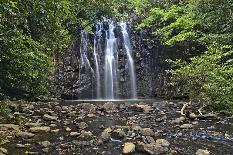 Ellinjaa Falls near Milla Milla in Queensland