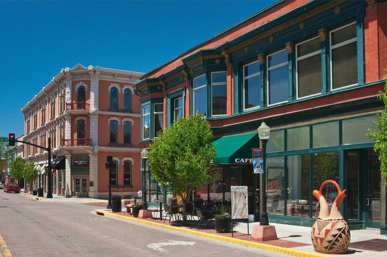 Main Street in Trinidad, Colorado, USA