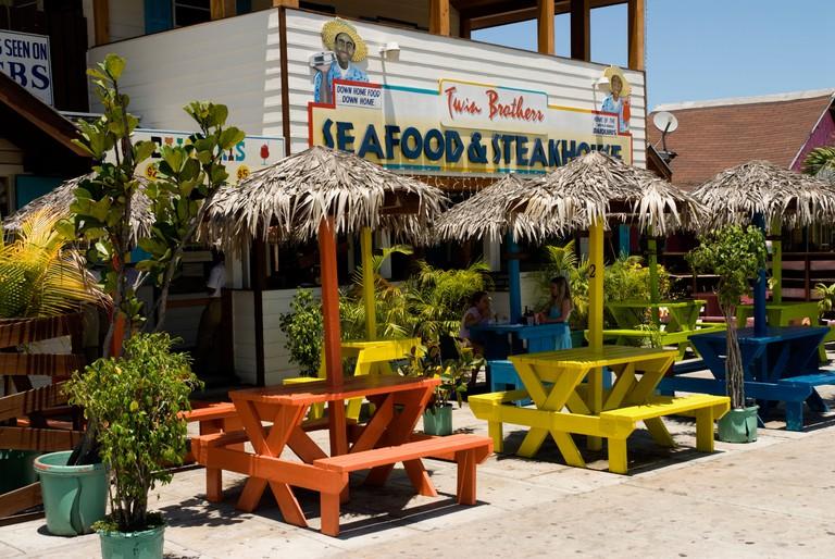 Twin Brothers Restaurant, Arawak Cay, Nassau, Bahamas