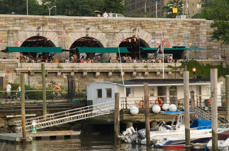 Boat Basin Cafe on the Upper West Side of Manhattan