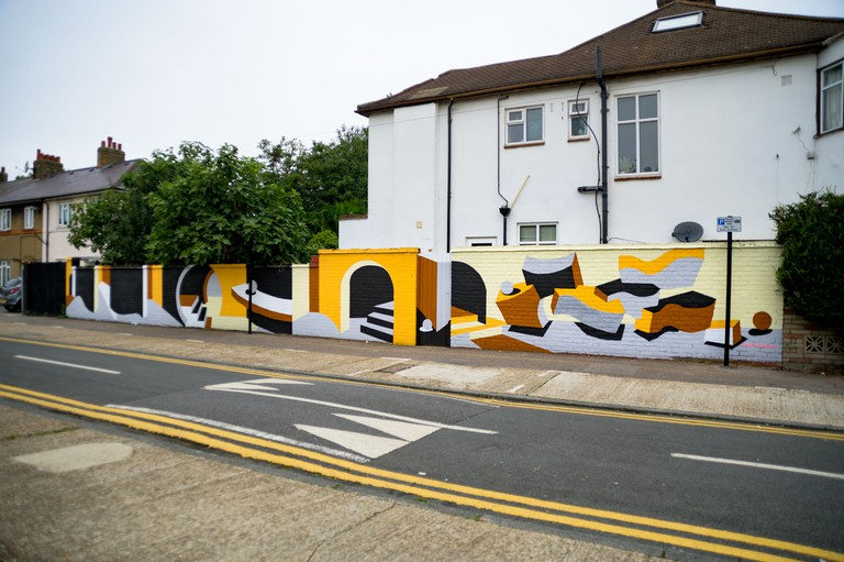 Adriana Jaros - London Mural Festival - 95 Essex Road (junction griggs Road)