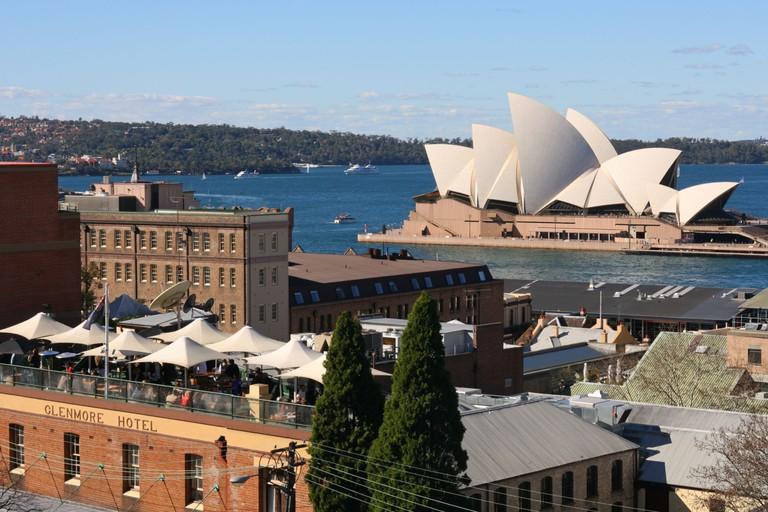 Sydney Opera House. Image shot 2007. Exact date unknown.