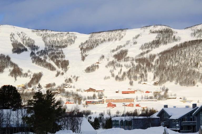 Geilo ski resort, Norway, Scandinavia. Image shot 2008. Exact date unknown.