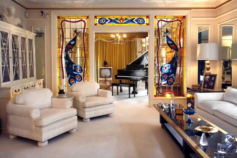 Elvis Presley's Living Room, Graceland, Memphis, Tennessee, USA