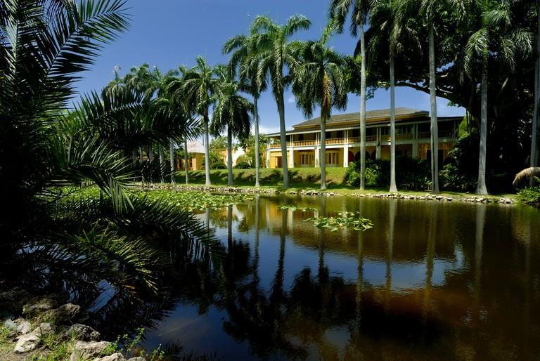 The Bonnet House (also known as the Bartlett Estate) is a historic home in Fort Lauderdale, Florida, United States.