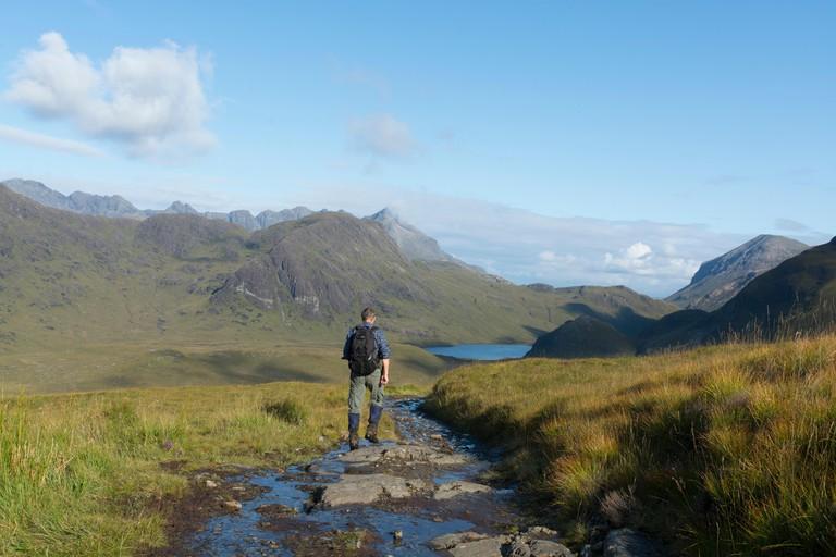 camasunary strathaird walker path trail rambler
