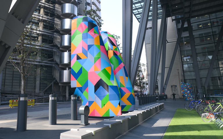 Carl Cashman - London Mural Festival - Leadenhall Building