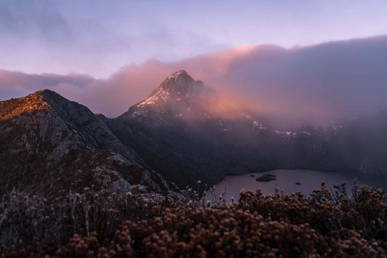 View of Dove Lake and Cradle Mountain, Tasmania