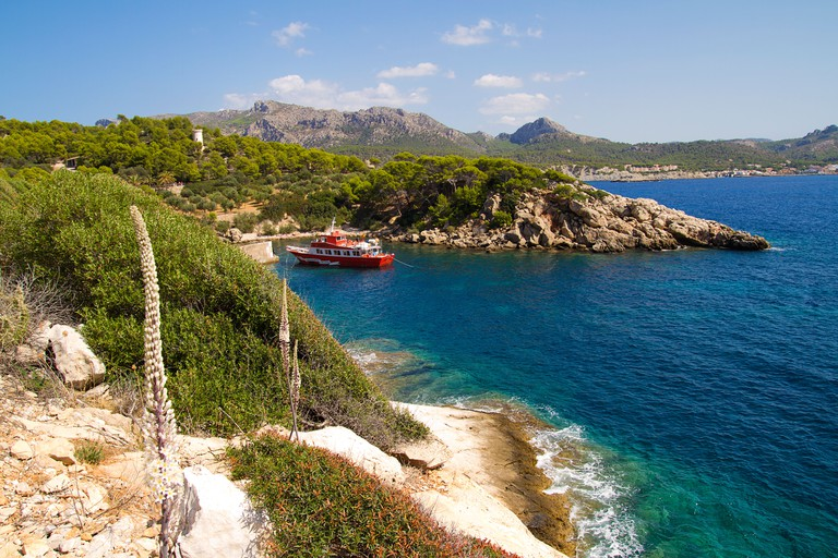 Sa Dragonera island in Majorca, Spain