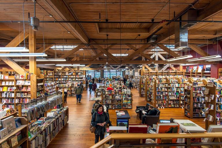 The Elliott Bay Book Company bookstore at Capitol Hill, Seattle, Washington, USA