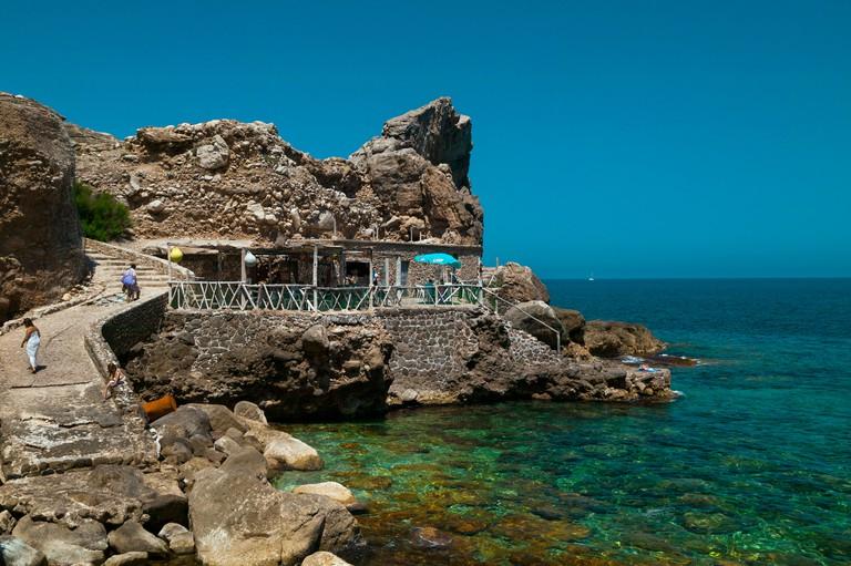 Cala D'Estellencs,Island Of Palma,Balearic Islands,Spain