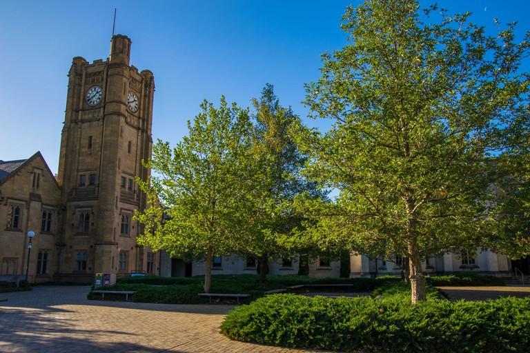 South lawn in University of Melbourne, Australia