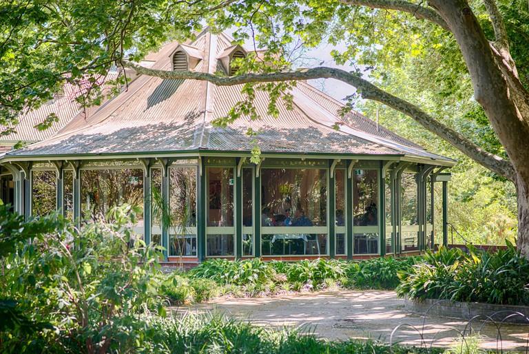 The Adelaide Botanic Gardens restaurant and cafe, South Australia