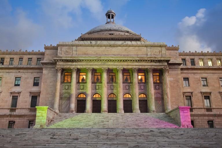 Puerto Rico, San Juan, El Capitolio, Government Capitol building