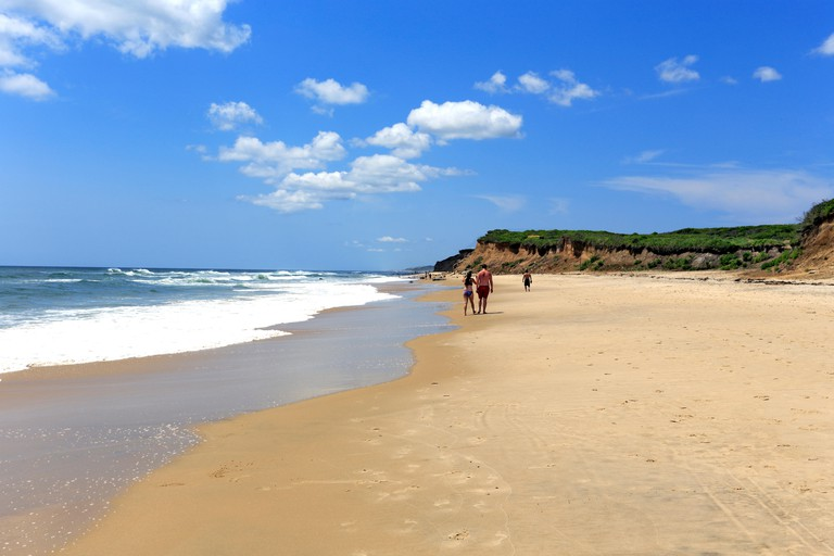 Ditch Plains Beach Montauk Long Island New York