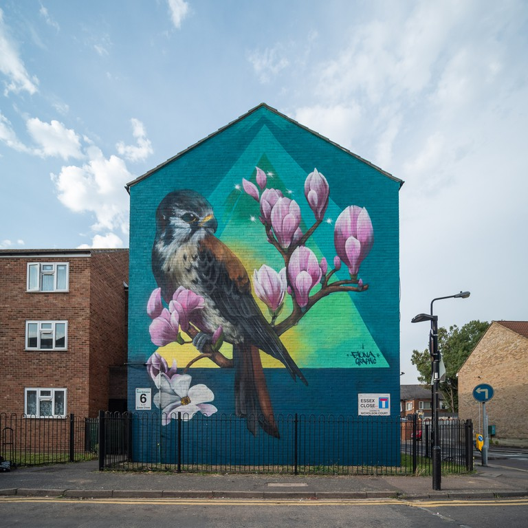 Faunagraphic - London Mural Festival - 1Essex Close, , E17 6JS