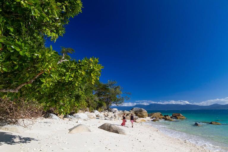 Australia, Queensland, Cairns, Fitzroy Island National Park, Fitzroy Island, Nudey beach