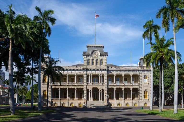 Iolani Royal Palace, Hawaii, USA, Monday, May 09, 2016.