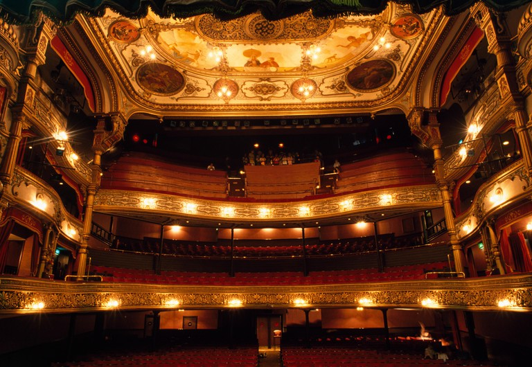 Grand Opera House, Belfast, Ireland; 19Th Century Opera House