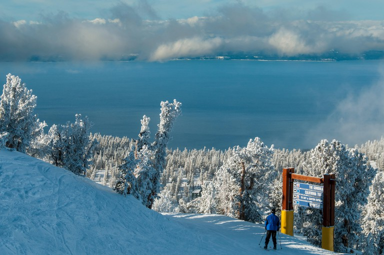California Trail, Heavenly Mountain Ski Resort, South Lake Tahoe, California.