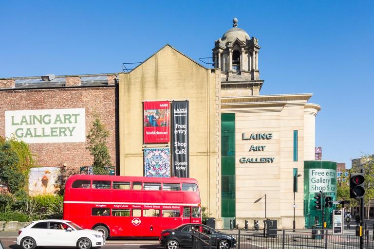 Laing Art Gallery in Newcastle upon Tyne, England. UK