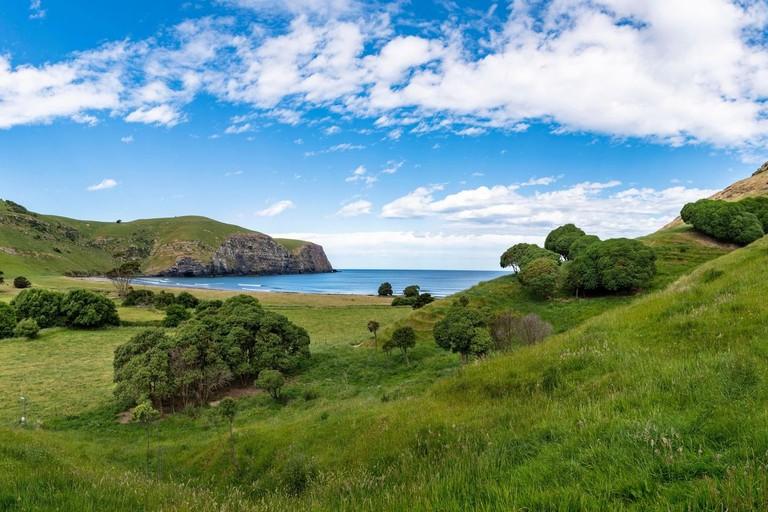 Hickory Bay, Banks Peninsula, New Zealand